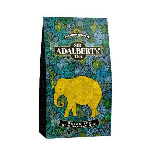 Sir Adalbert's Green Tea with Marocan Mint 100 g