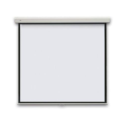 Ekran projekcyjny PROFI manualny, ścienny, 240x240cm, (1:1)