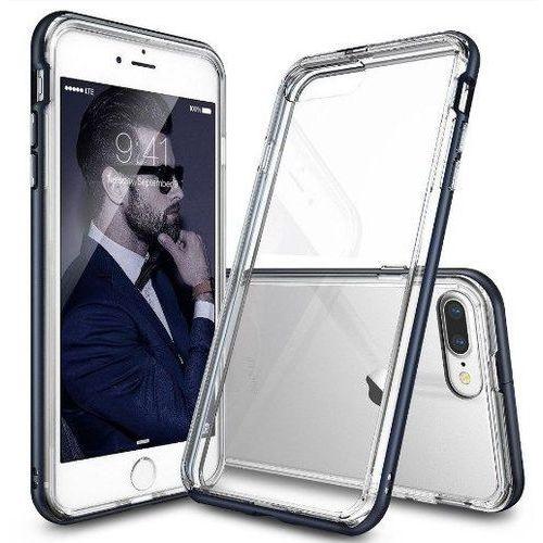 Zestaw | rearth ringke frame metal slate | obudowa + szkło ochronne perfect glass dla modelu apple iphone 7 plus marki Rearth / perfect glass