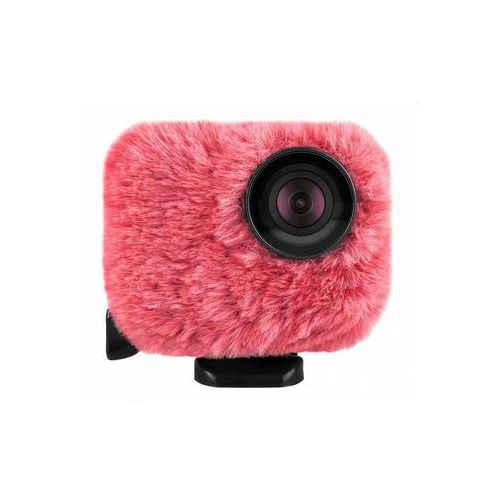 Osłona mikrofonu, przeciwwietrzna wind jacket do kamer gopro - różowa marki Removu