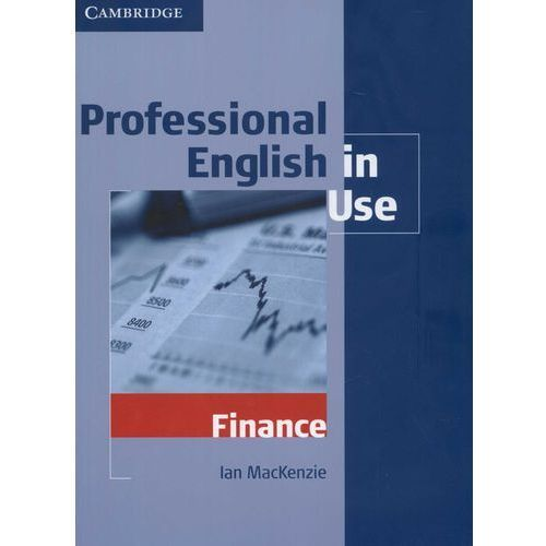 Professional English in Use Finance (9780521616270)