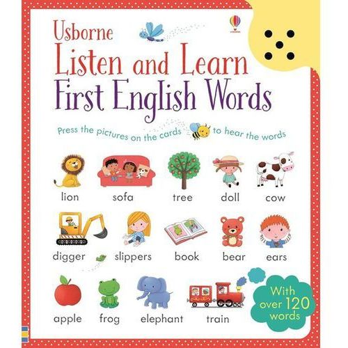 Listen and Learn First English Words (20 str.)