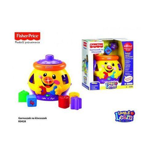 Fisher Price - Garnuszek na klocuszek z kategorii zabawki edukacyjne