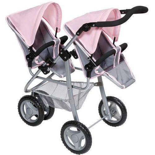 BABY born Trzykołowy wózek dla bliźniaków, dla lalek - produkt z kategorii- wózki dla lalek
