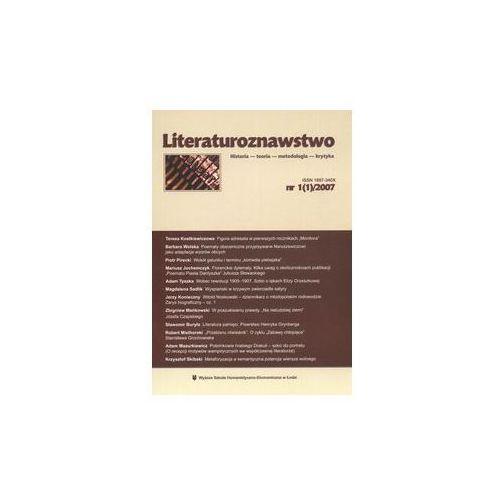Literaturoznawstwo (9771897340005)