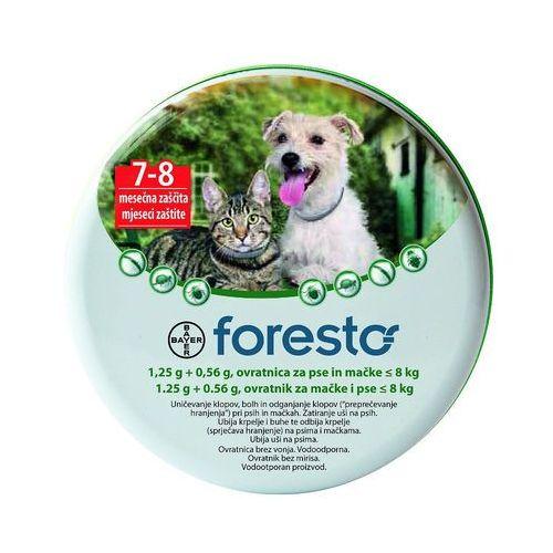 Bayer Foresto Obroża dla psów i kotów o masie ciała poniżej 8kg (dł.38cm)