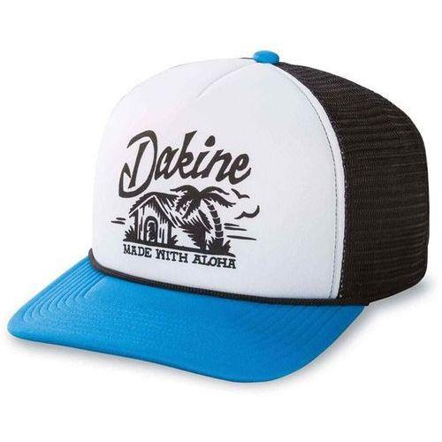 czapka z daszkiem DAKINE - Beach Hut Trucker Blue-White (BLUE-WHITE) rozmiar: OS, kolor niebieski