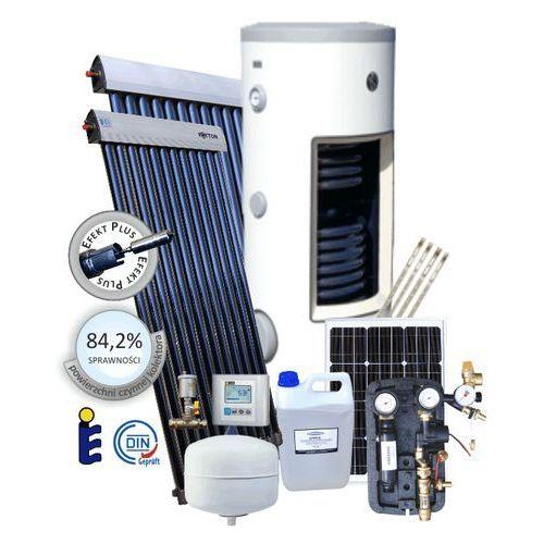 Zestaw solarny autonomiczny do CWU FOTTON KOMFORT 200A