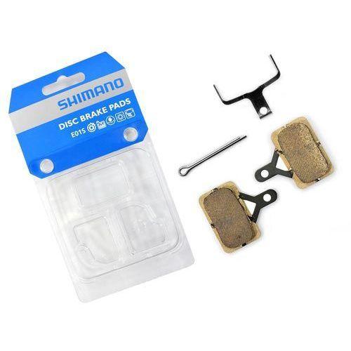 Shimano Okładziny/klocki hamulcowe e01s metaliczne