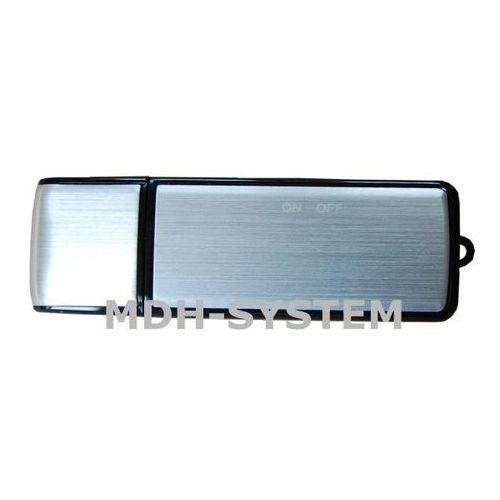 Mikro rejestrator dźwięku, dyktafon, Pendrive 8 GB BLACK, do 90 godzin nagrań