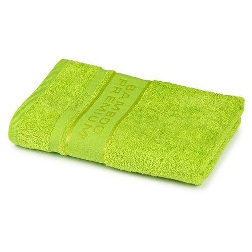4home ręcznik kąpielowy bamboo premium zielony, 70 x 140 cm, 70 x 140 cm
