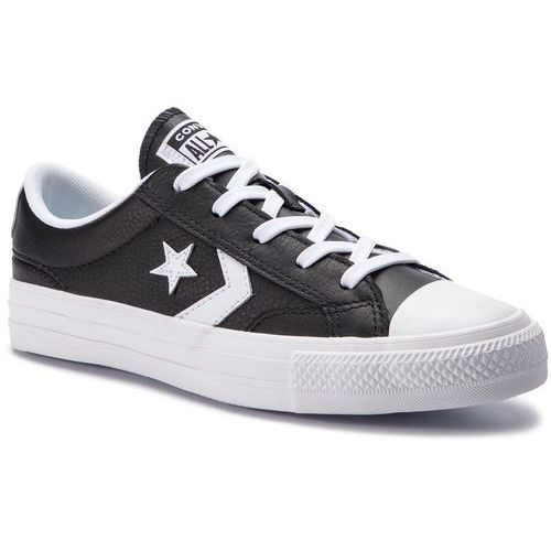 Trampki CONVERSE - Star Player Ox Bla 159780C Black/White/White, kolor czarny