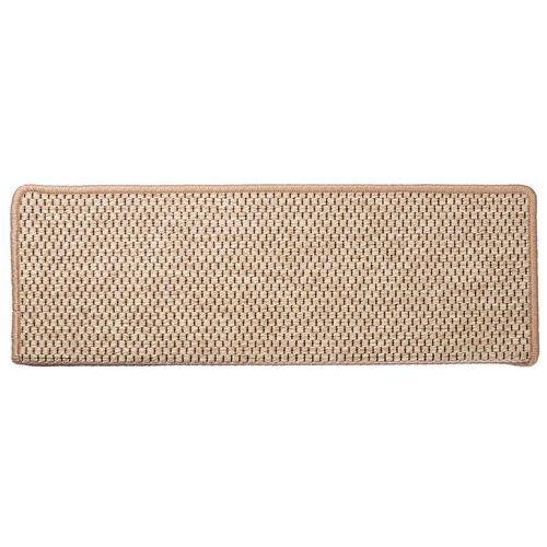 VOPI Nakładka na schody Nature prostokąt jasnobeżowy, 24 x 65 cm, 24 x 65 cm