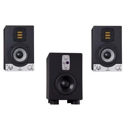 EVE Audio SC204 + TS107 zestaw 2.1 monitorów studyjnych + subwoofer