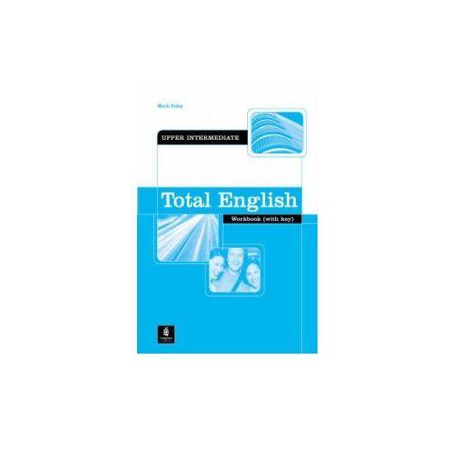 Total English Upper-Intermediate Workbook with CD-ROM, oprawa miękka