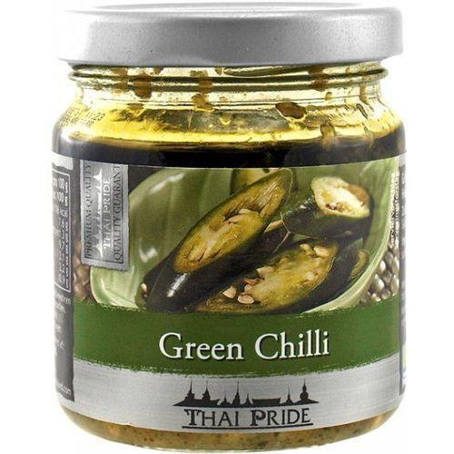 Thai pride Zielone chili siekane w oleju sojowym 180g - (8853662023052)