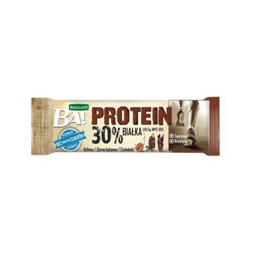 Bakalland ba! 35g baton proteinowy kofeina ziarno kakaowe czekolada