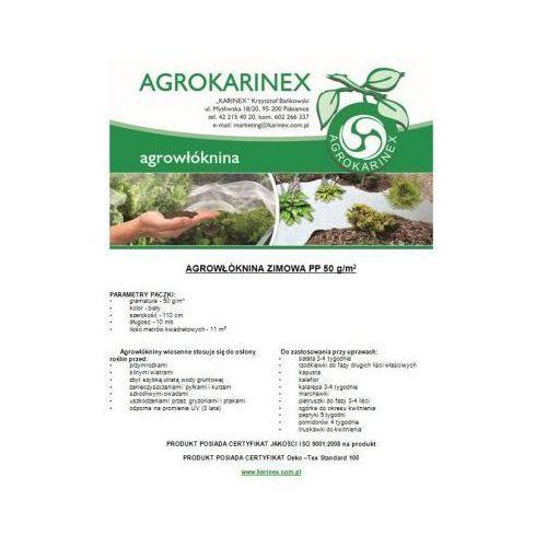 Agrowółknina zimowa PP 50 g/m2 biała 1,1 x 10 mb. Paczka o wadze 0,6 kg - produkt z kategorii- folie i agrowłókniny