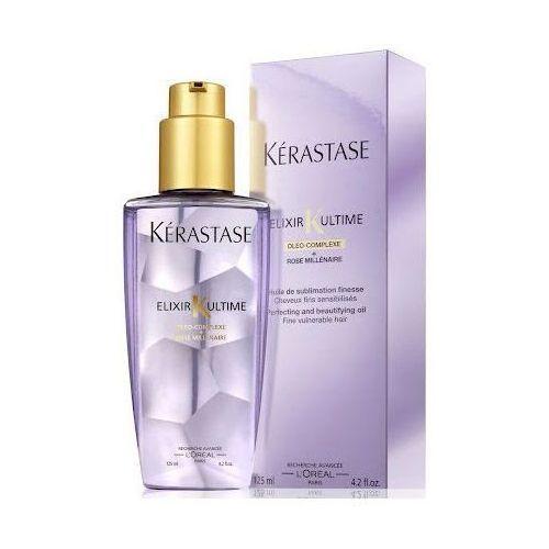 Kerastase - Eliksir ultime - Elixir Ultime Millennium Rose - Olejek do włosów cienkich i delikatnych - 125 ml - sprawdź w sklepEstetyka.pl