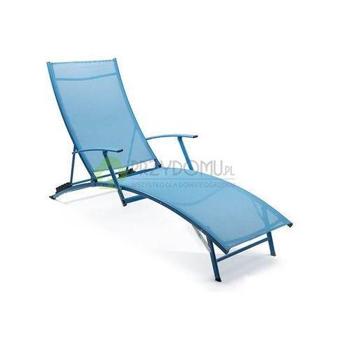 Leżak plażowy NEMO niebieski