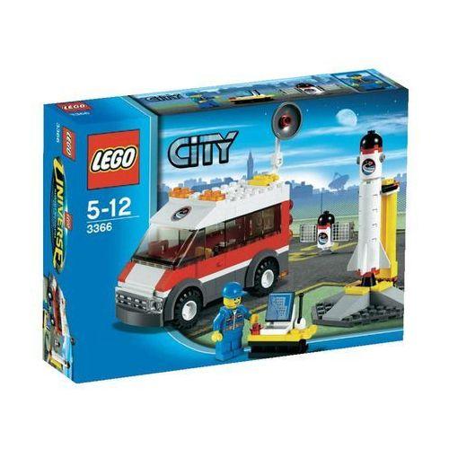 Lego City WYRZUTNIA SATELITÓW 3366 z kategorii: klocki dla dzieci