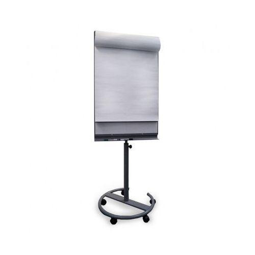 Mobilny flipchart ROUND BW, magnetyczny