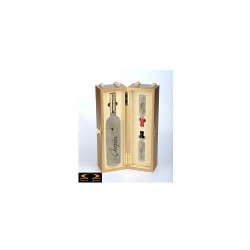 Chopin vodka Chopin wheat 0,7l w skrzynce + miniaturki