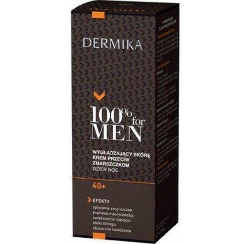 100% men krem 40+ wygładzający skórę przeciw zmarszczkom dzień/noc 50ml marki Dermika
