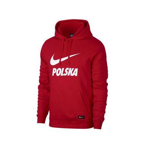 Apol54: polska - bluza z kapturem marki Nike