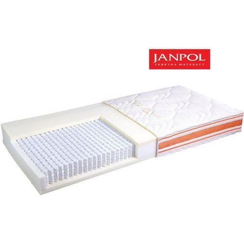 JANPOL FORTE - materac multipocket, sprężynowy, Rozmiar - 120x200, Pokrowiec - Jersey Standard WYPRZEDAŻ, WYSYŁKA GRATIS