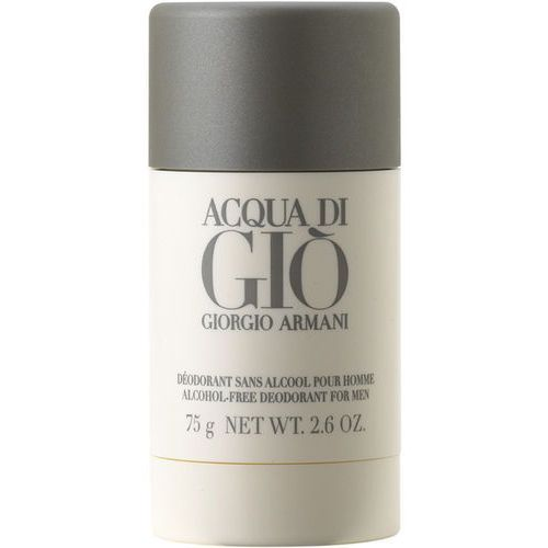 Giorgio Armani Acqua Di Gio Pour Homme Dezodorant w sztyfcie 75 g /PRAWDZIWE RATY 10 x 0%! Tylko do niedzieli 14 września / DARMOWA DOSTAWA / DARMOWY ODBIÓR OSOBISTY! - produkt z kategorii- Dezodoranty unisex