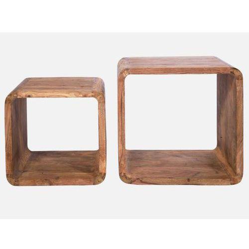 Stolik Kawowy Authentico Cube II (2/Set)  75051, Kare Design z sfmeble.pl