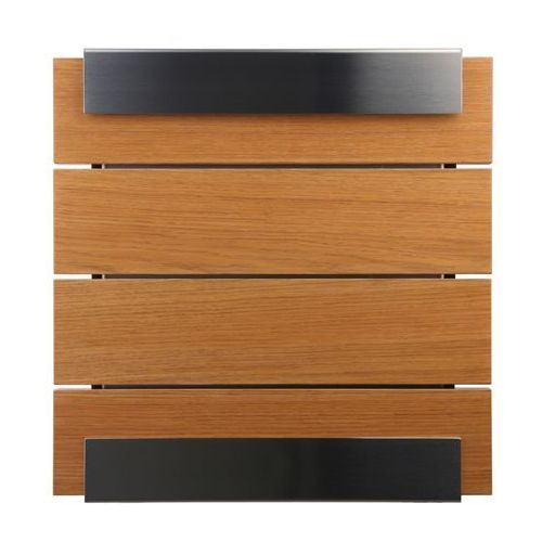 Skrzynka na listy Keilbach Glasnost Wood dąb - produkt dostępny w All4home