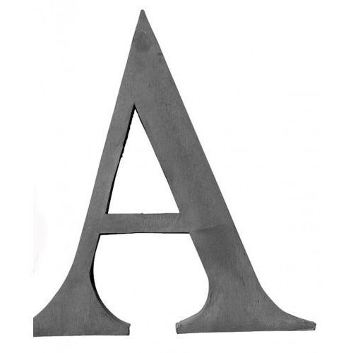 LITERA DEKORACYJNA OCYNKOWANA A BLOOMINGVILLE 30 cm, 393