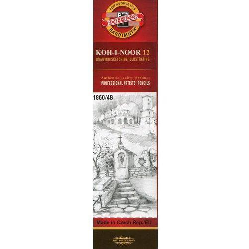 Ołówek grafitowy 1860/4b marki Koh-i-noor