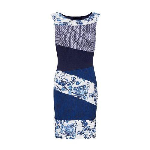 sukienka 'vest_olivia' granatowy / biały marki Desigual