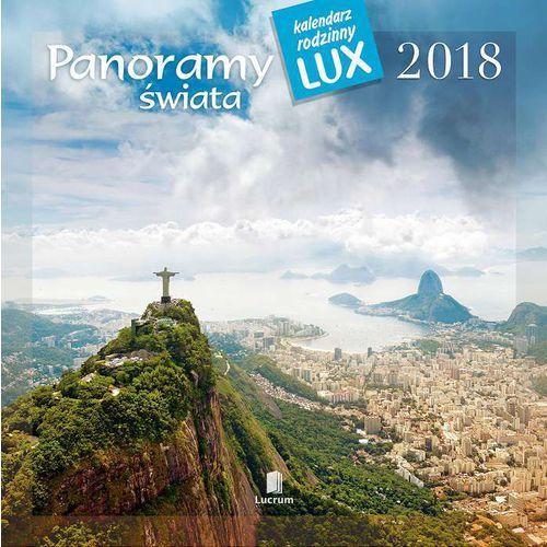 Lucrum Kalendarz wieloplanszowy panoramy świata pk04