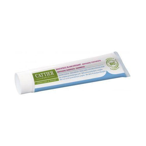 Wybielająca pasta do zębów - Olejek z pietruszki i Mięta pieprzowa (75 ml) Cattier
