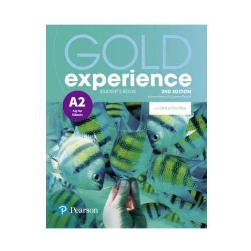 Gold Experience 2nd Edition A2. Podręcznik + Online Practice, oprawa broszurowa