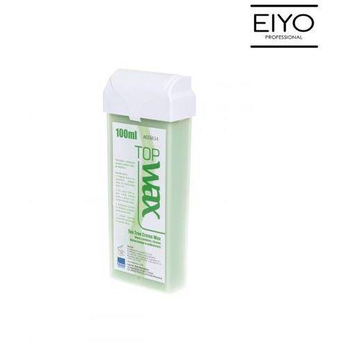 Wosk z olejkiem z drzewa herbacianego szeroka rolka   top wax - 100 ml marki B&m