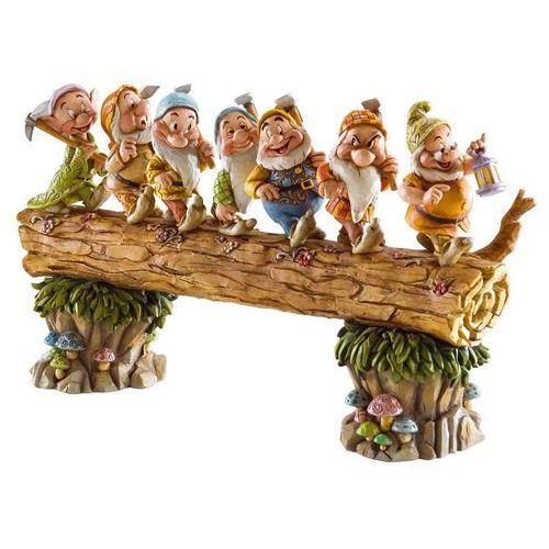 siedem krasnoludków z bajki Królewna Śnieżna Homeward Bound (Seven Dwarfs) krasnoludki Jim Shore 4005434 figurka dekoracja pokój dziecięcy