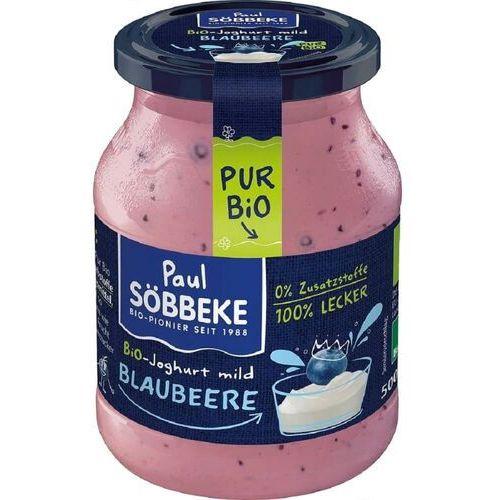 Sobbeke dystrybutor: bio planet s.a., wilkowa wieś 7, 05-084 leszno k. Jogurt kremowy jagodowy (3,8% tłuszczu w mleku) bio 500 g (słoik) - sobbeke