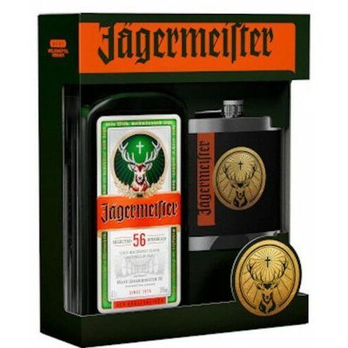 Likier Jagermeister 0,7l + piersiówka