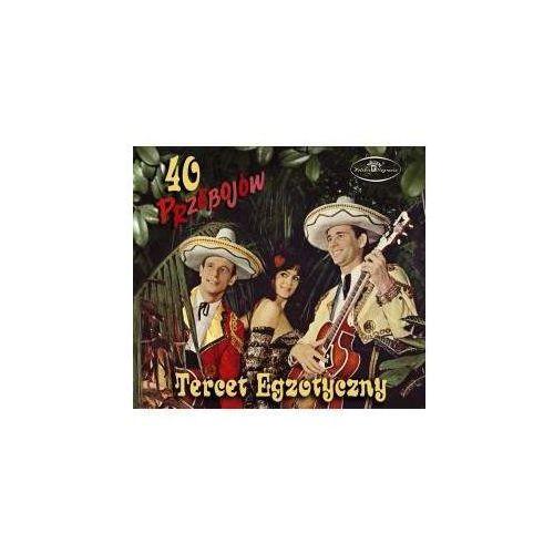 40 Przebojów Tercetu Egzotycznego (CD) - Tercet Egzotyczny DARMOWA DOSTAWA KIOSK RUCHU, PNCD 1253 A/B