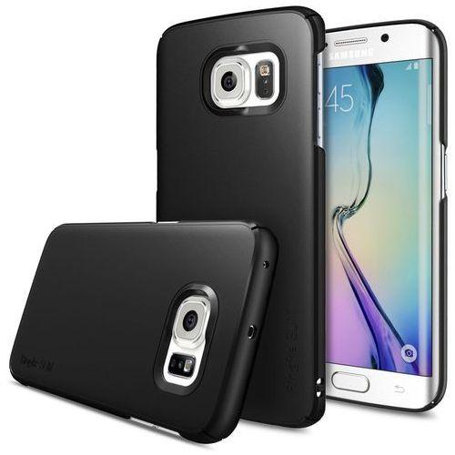 Rearth Ringke Slim Samsung Galaxy S6 Edge Sf Black, kolor czarny