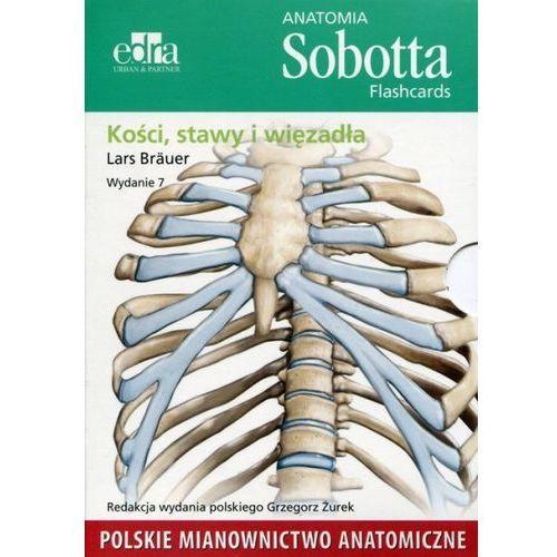 Anatomia Sobotta Flashcards Kości stawy i więzadła (9788365373991)