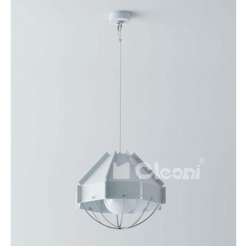 lampa wisząca RAFI 300 1xE27 surowa stal ŻARÓWKA LED GRATIS!, CLEONI 1299A1E+/621