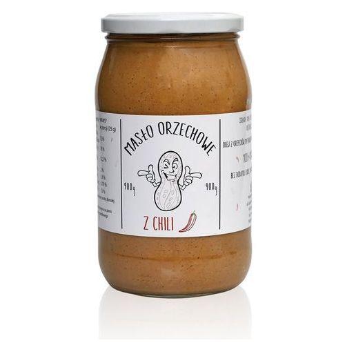 Masło orzechowe MONSTER Arachidowe z chilli 900g Najlepszy produkt