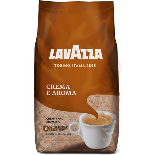 Lavazza Kawa ziarnista Crema e Aroma 1 kg - BEZPŁATNY ODBIÓR: WROCŁAW!