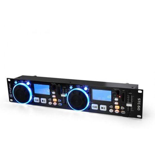 Dj-MP3-Player Skytec STC-50 2 decki USB SD Scratching
